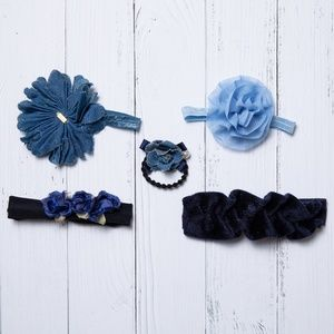 Other - Blue Hair Accessory Bundle